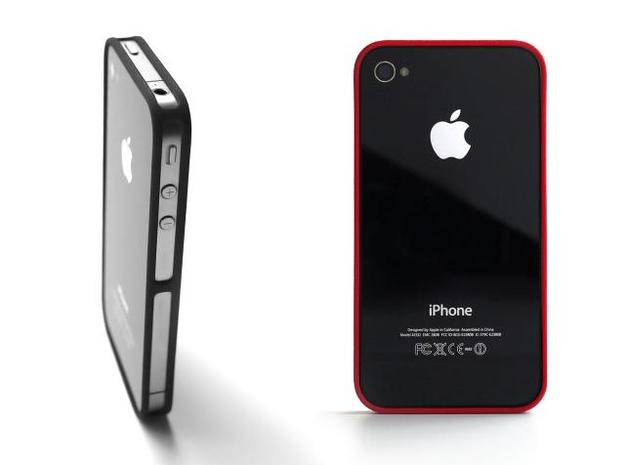 4-4 case for iPhone 4 GSM + CDMA/Verizon in Black Strong & Flexible