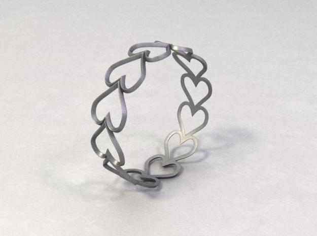 Hearts 3d printed Description