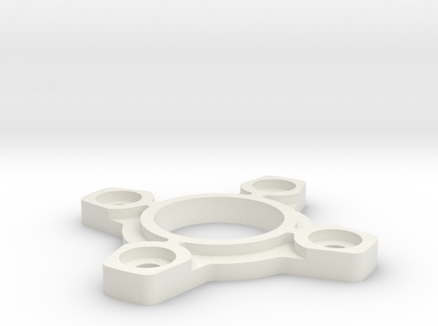 Sanwa JLW GT-O compatible restrictor plate in White Strong & Flexible