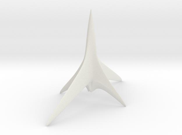 X-craft in White Natural Versatile Plastic