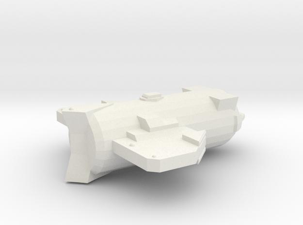 3788 Scale Probr Bronze Destroyer (DD) MGL in White Natural Versatile Plastic