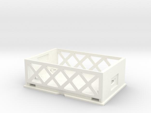 A BIT PUSHY Case Base V1 in White Strong & Flexible Polished