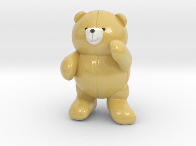 Pocket bear in Glossy Full Color Sandstone