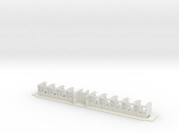 #22B - 50 81 29-03 301 Innenausbau in White Natural Versatile Plastic