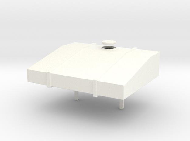1:32 Flüssigdüngertank klein in White Strong & Flexible Polished