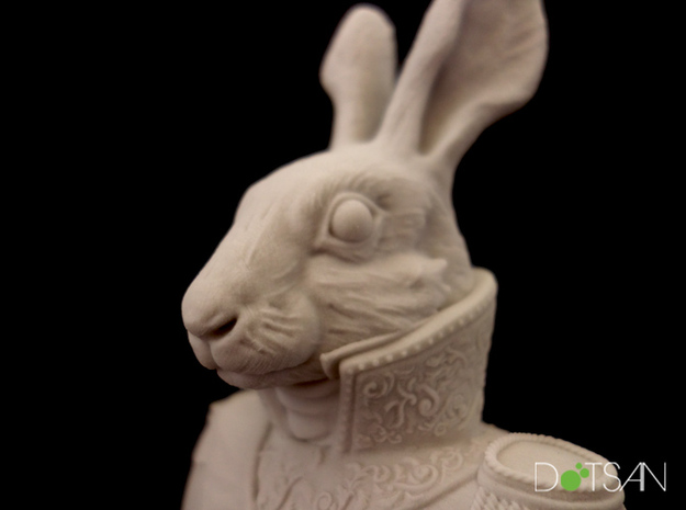 Viscount Hare Bust in Natural Sandstone