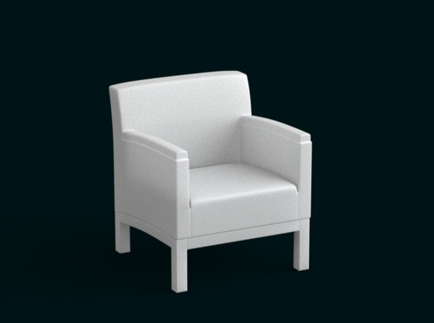 1:10 Scale Model - ArmChair 03 3d printed