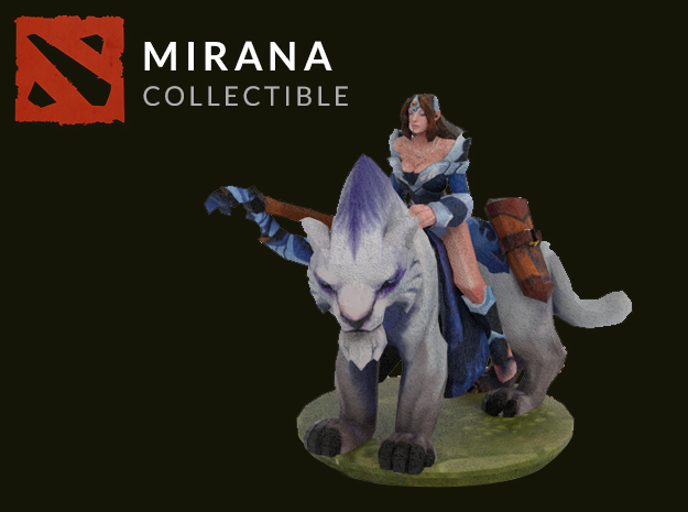 Mirana in Full Color Sandstone
