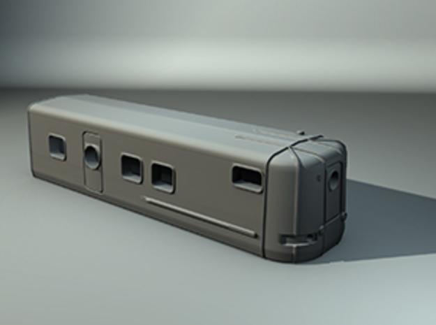 Talgo Wagon Tail Z scale in Frosted Ultra Detail