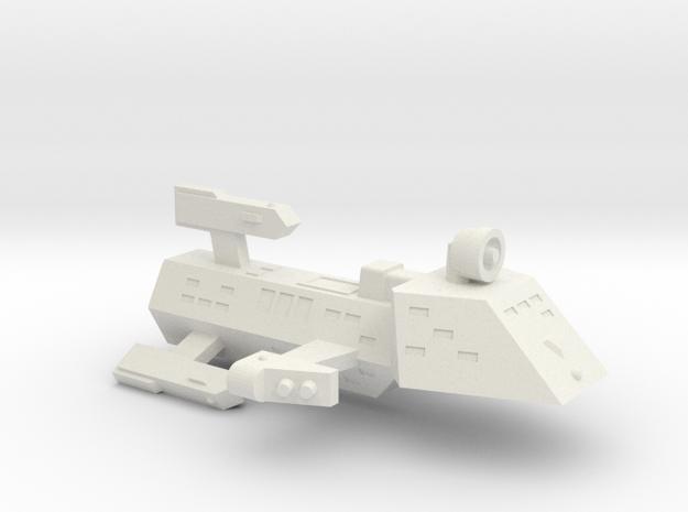 3788 Scale Kzinti Frigate (FF) SRZ in White Strong & Flexible
