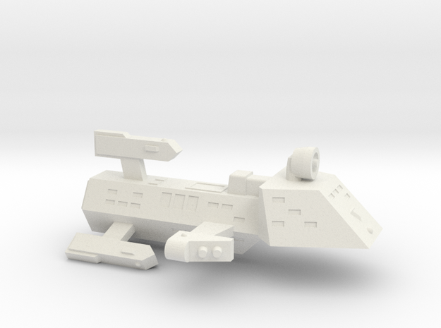 3125 Scale Kzinti Frigate (FF) SRZ in White Strong & Flexible