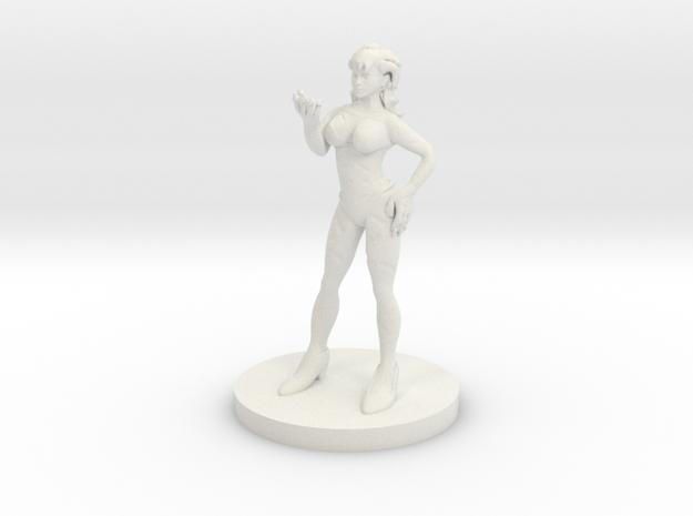 Blood Warlock in White Strong & Flexible