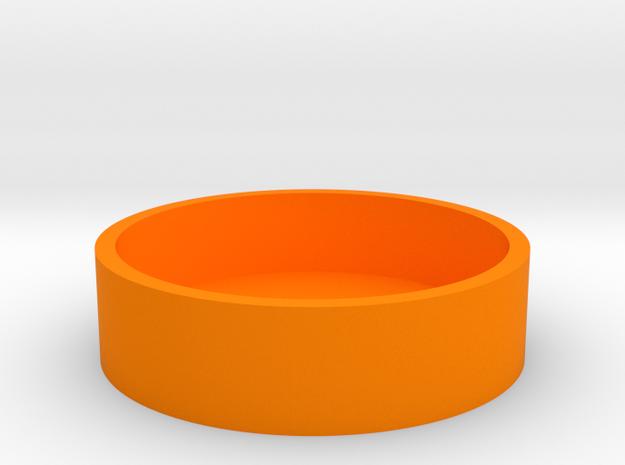 Okito Box Base - USA Dollar in Orange Processed Versatile Plastic