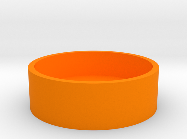 Boston Box - USA Dollar in Orange Processed Versatile Plastic