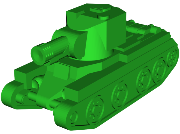 BT-42 Assault Gun (MINI) in White Natural Versatile Plastic