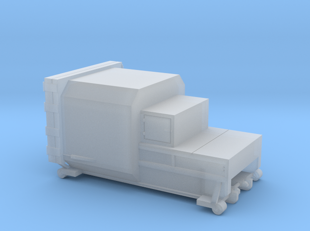 N scale waste compactor 5 sizes. in Smoothest Fine Detail Plastic: Extra Small