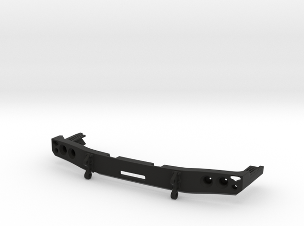 Mercedes Benz Zetros Bumper 1:10 in Black Strong & Flexible: 1:10