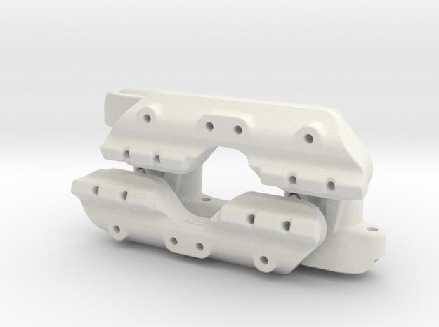 RG BK Crashbar Quick Adjuster v1 in White Strong & Flexible