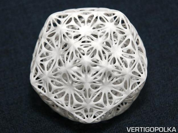 Truncated Icosahedron Stellated ds 75mm 3d printed Truncated Icosahedron Stellated ds 75mm (WSF)