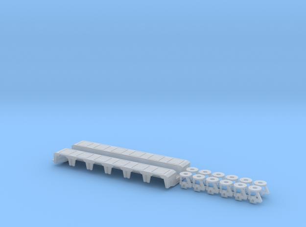 1/87 Pendel-X 6 Axle Rear Module in Frosted Ultra Detail