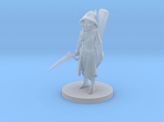 Warlock Bard in Smooth Fine Detail Plastic