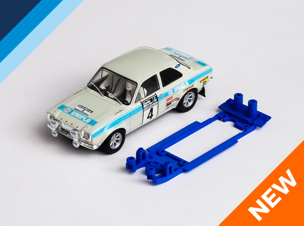1/32 Scalextric Ford Escort Mk1 Chassis for IL pod