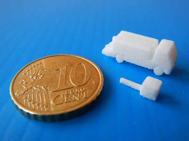 Airport GSE 1:400 Lavatory Truck 3d printed