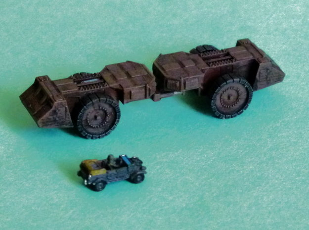 Krupp Räumer S Mineclearing Vehicle 1/285 / 6mm 3d printed VW not included