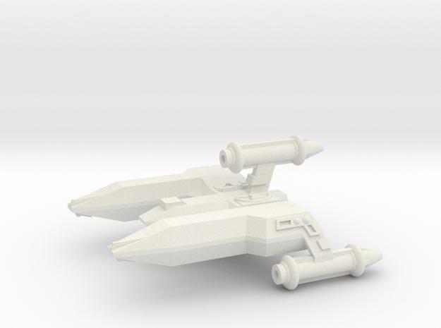 3788 Scale Lyran Alleycat War Destroyer (DW) CVN in White Natural Versatile Plastic