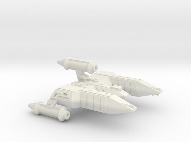 3125 Scale Lyran Alleycat War Destroyer (DW) CVN in White Strong & Flexible