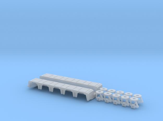 1/87 P-X 5 Axle Rear Module