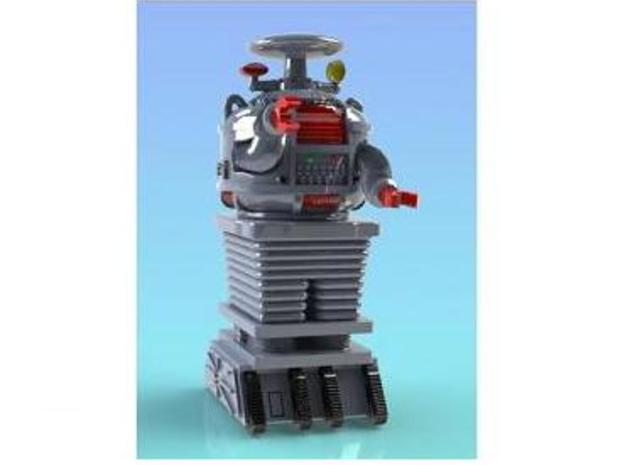 1/26th scale 2.7 inch Robot