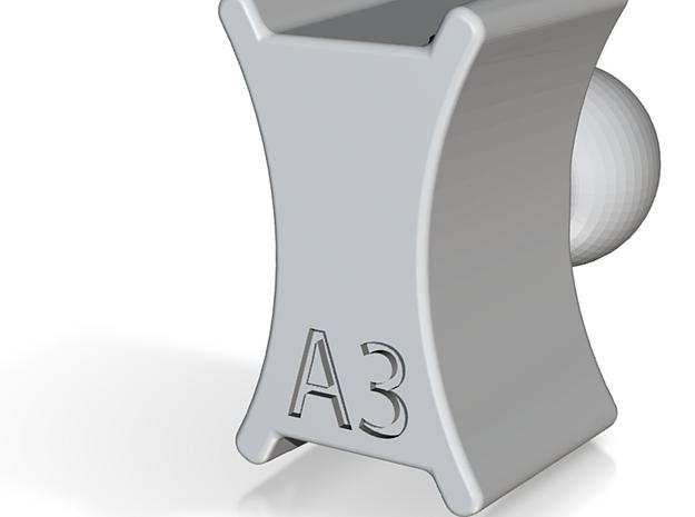"Audi A3 RAM Mount 1"" Ball adaptor in Black Strong & Flexible"