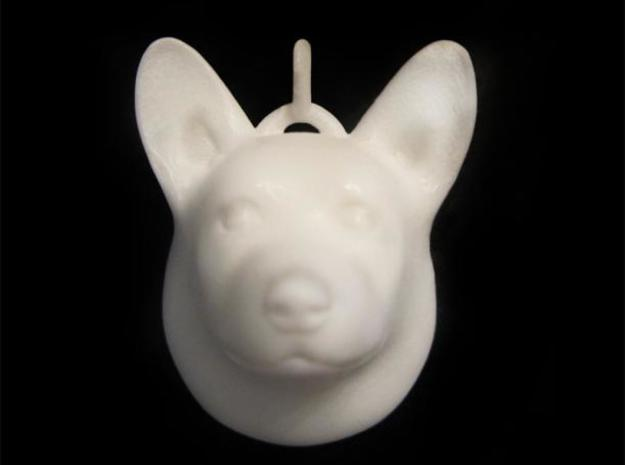 Corgi Ornament 3d printed
