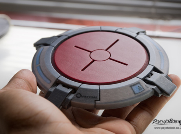 Portal button Coaster