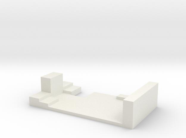 ModMeter v1 Mount in White Strong & Flexible