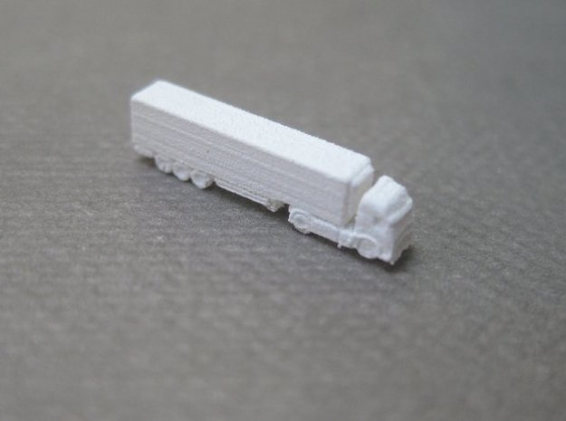Refrigerated Lorries (1:1250) x8  in Smooth Fine Detail Plastic