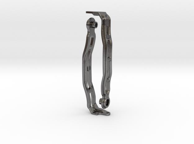 Lenkerbuegel Multistrada - ohne Logo - Stahl in Polished Nickel Steel