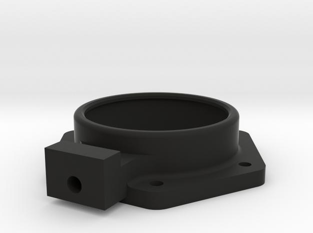 P51 floor fuel gauge in Black Natural Versatile Plastic