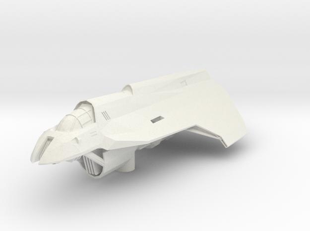 Hutt Medium Bomber in White Natural Versatile Plastic