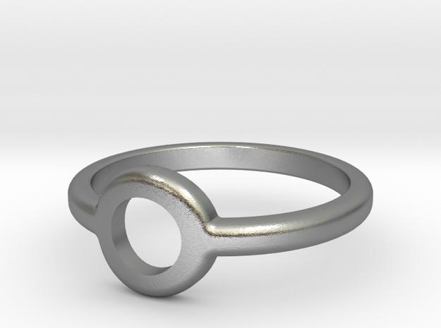 Ring of Atlantis in Natural Silver: 11 / 64