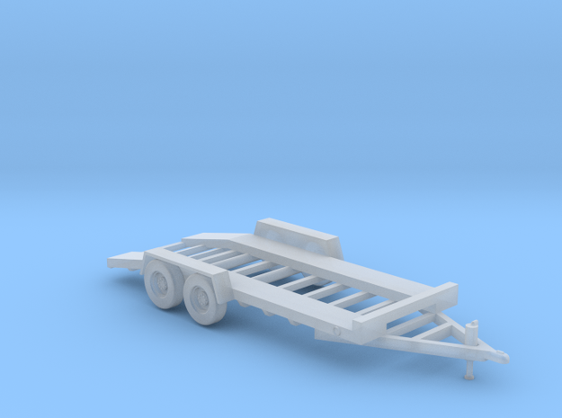 18-Foot Car Hauler - Parked in Smooth Fine Detail Plastic