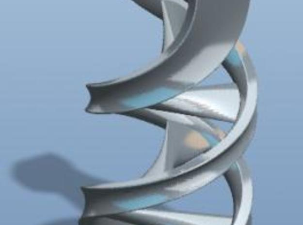 Large DNA Pendant 3d printed Description