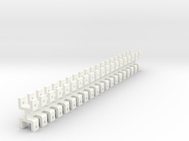 U_3mm in White Processed Versatile Plastic