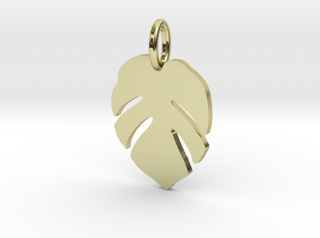 Monstera in 18k Gold Plated