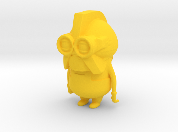 Cylon Minion in Yellow Strong & Flexible Polished