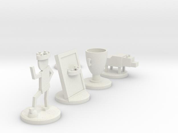 1st design in White Strong & Flexible