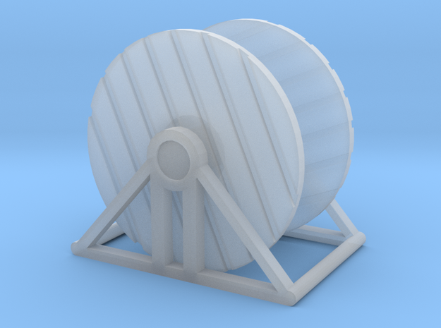Cable Reel Empty in Smooth Fine Detail Plastic: 1:64 - S