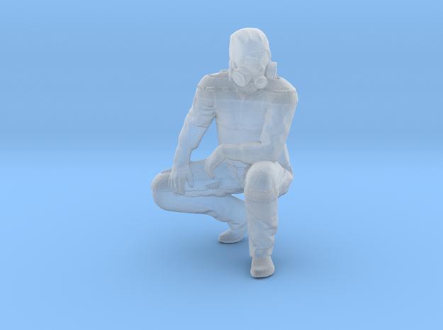HazMat Henry Crouching in Smoothest Fine Detail Plastic: 1:64 - S
