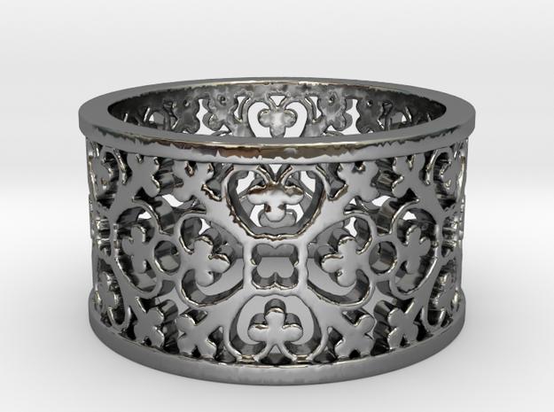 QUADRIFOGLIA 6 Ring Design Ring Size 8.5